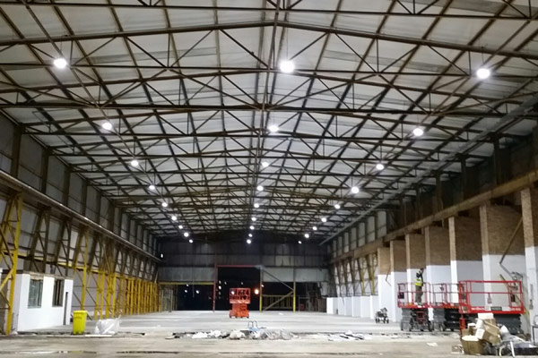 warehouse electrical design and installation
