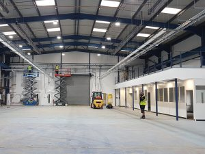 Nuneaton warehouse electrical installation works