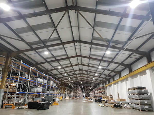 Industrial warehouse electrical installation Burton on Trent