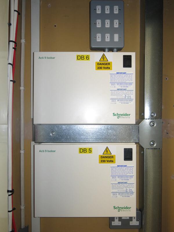 office refit electrical installation burton on trent