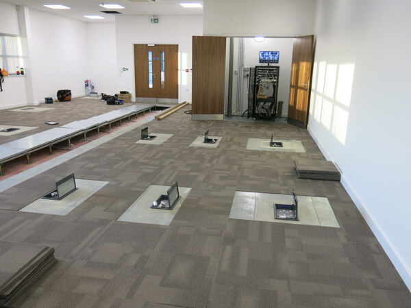 Floor power supply for office Surrey