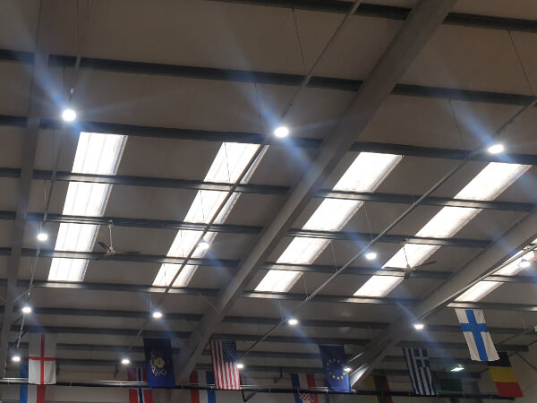 Warehouse LED lights replacement London