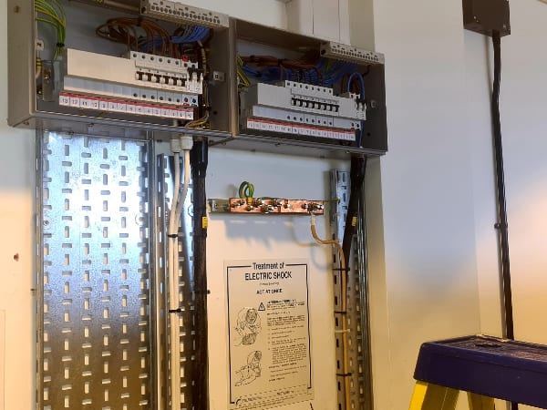 Open University electrical works