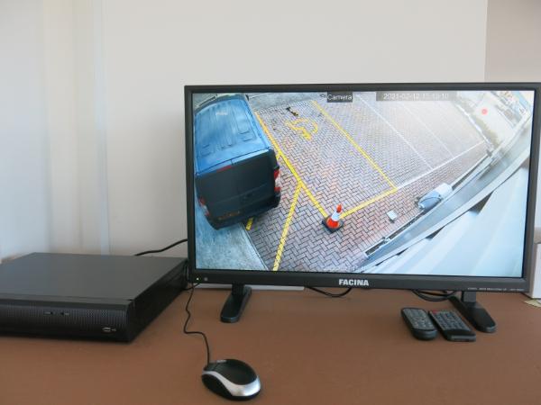 warehouse cctv installation